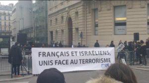 FRançais et israéliens solidaires